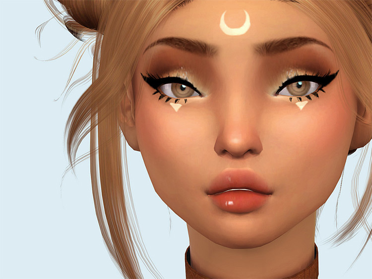 Moon Stickers For Sims 4