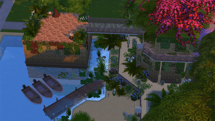 KH Destiny Islands Lot for The Sims 4