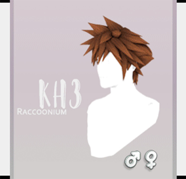 Kingdom Hearts Hair Megapack CC - Sims 4