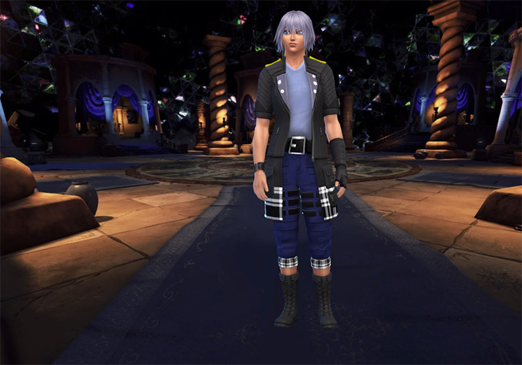 Riku Clothes + Tattoo CC - Sims 4