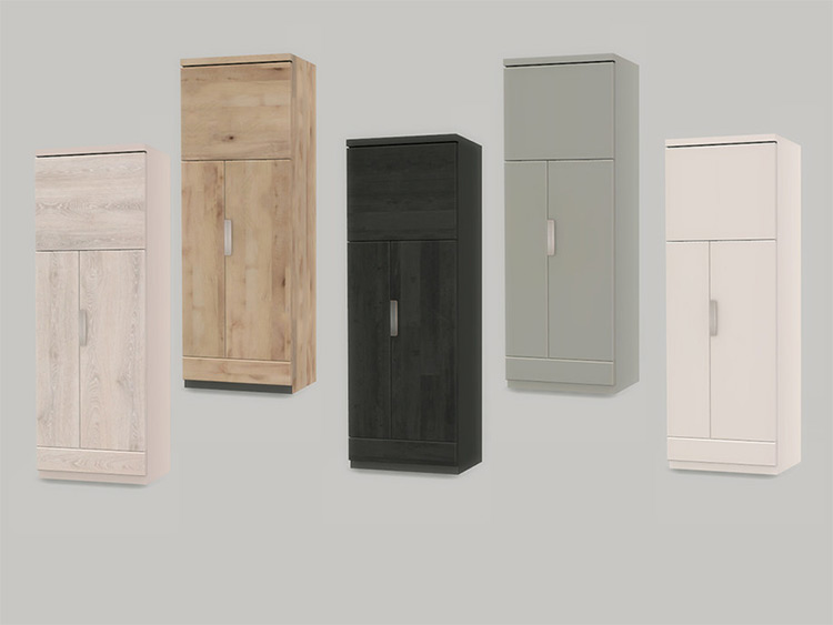 KitchenJen Refrigerator CC for The Sims 4