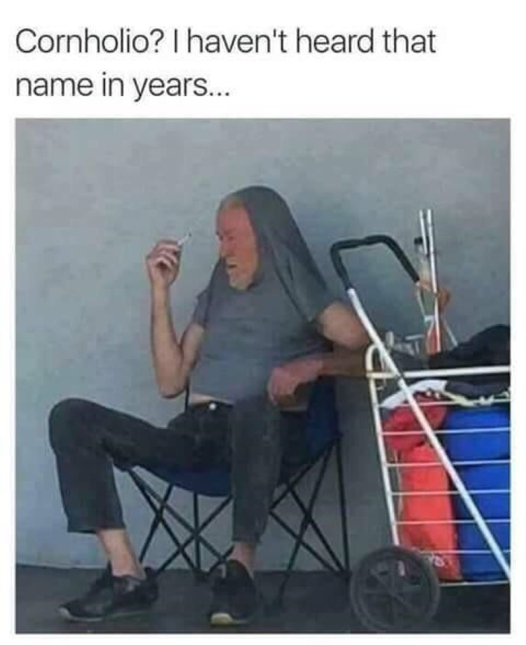 Cornholio? I havent heard that name in years... Beavis meme