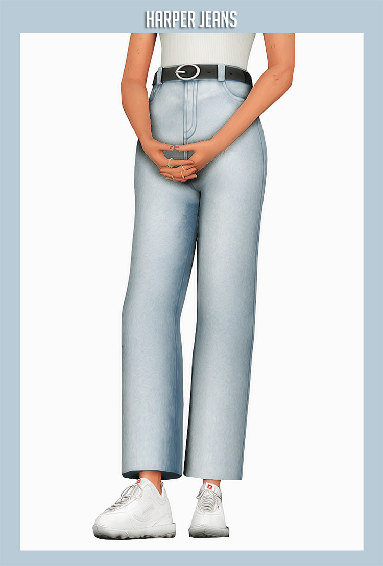 Harper Jeans for The Sims 4