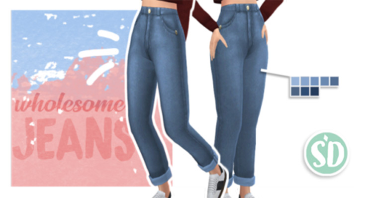 Wholesome Jeans for The Sims 4