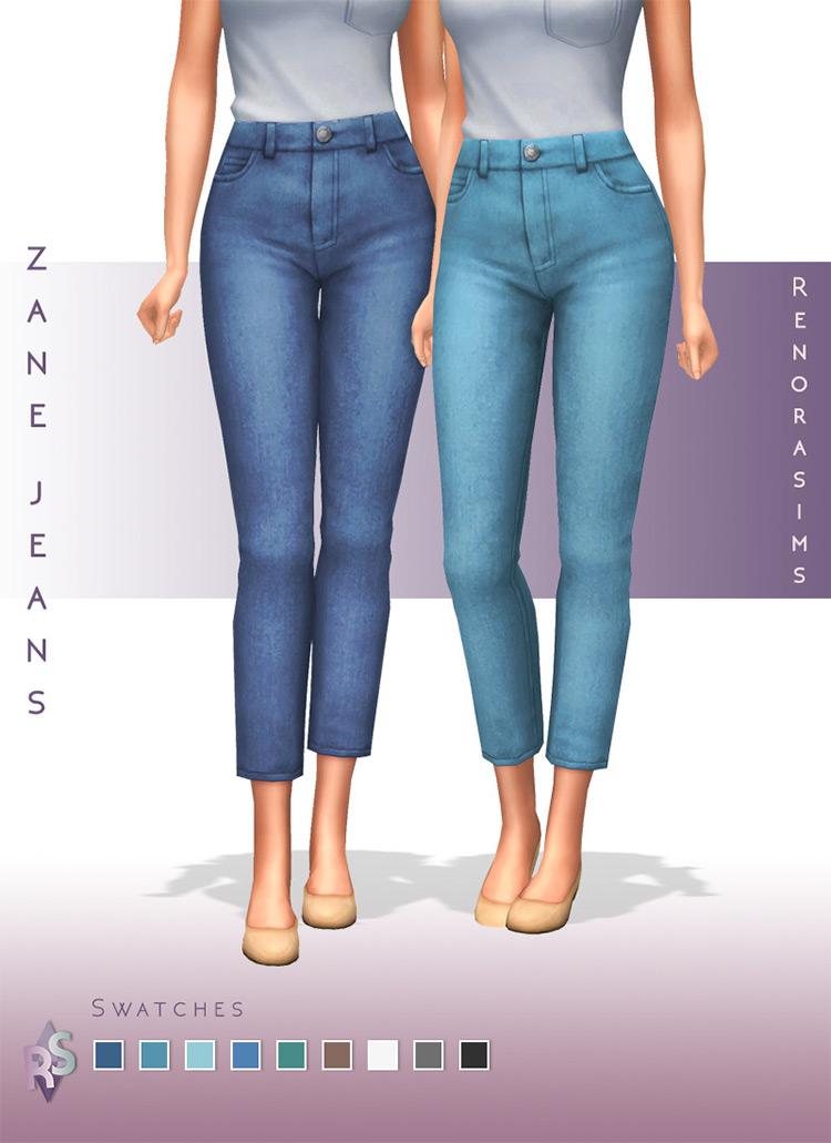 Zane Jeans Sims 4 CC
