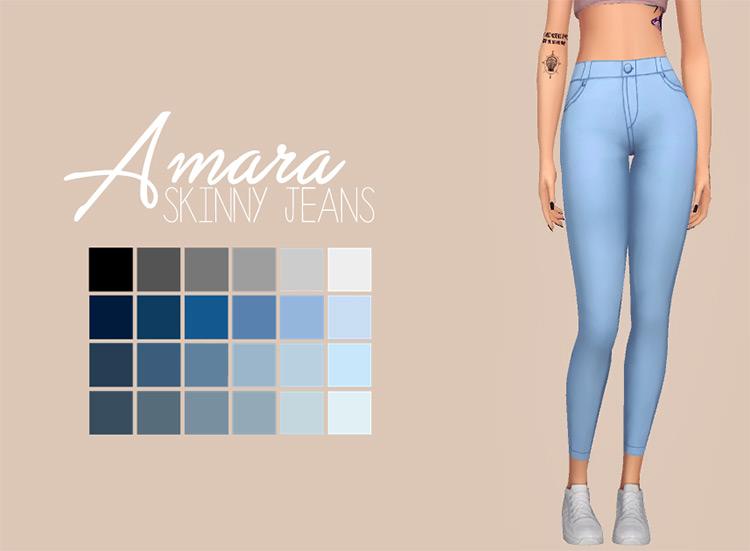 Amara Skinny Jeans TS4 CC