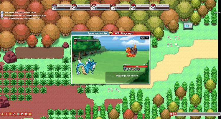 Pokémon Planet ROM hack screenshot