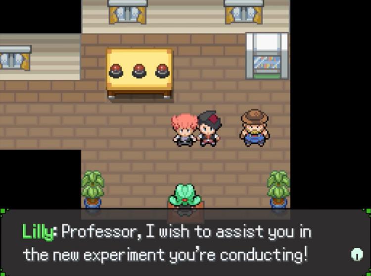 Pokémon Clockwork ROM hack screenshot