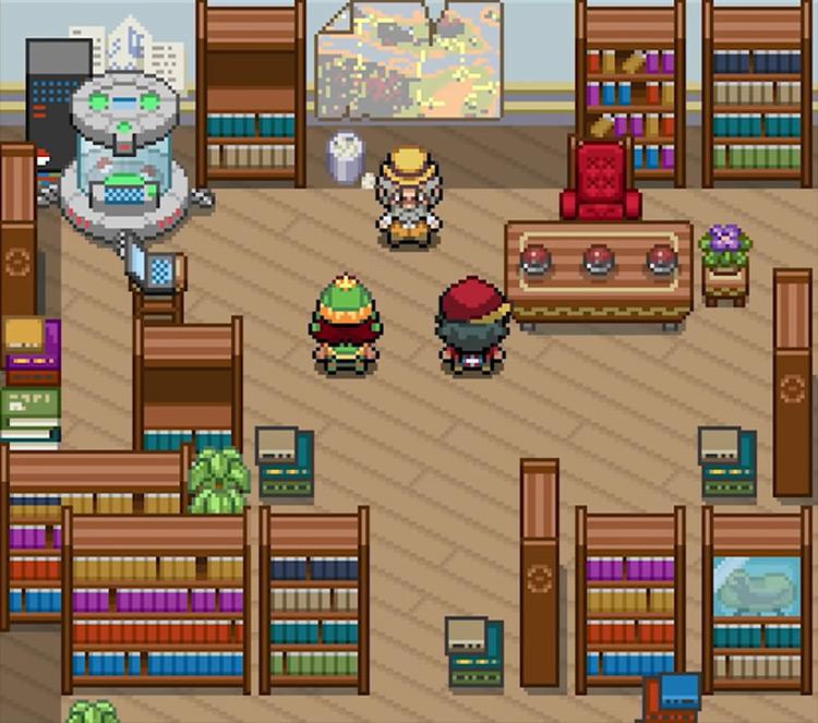 Pokémon Sage ROM hack screenshot