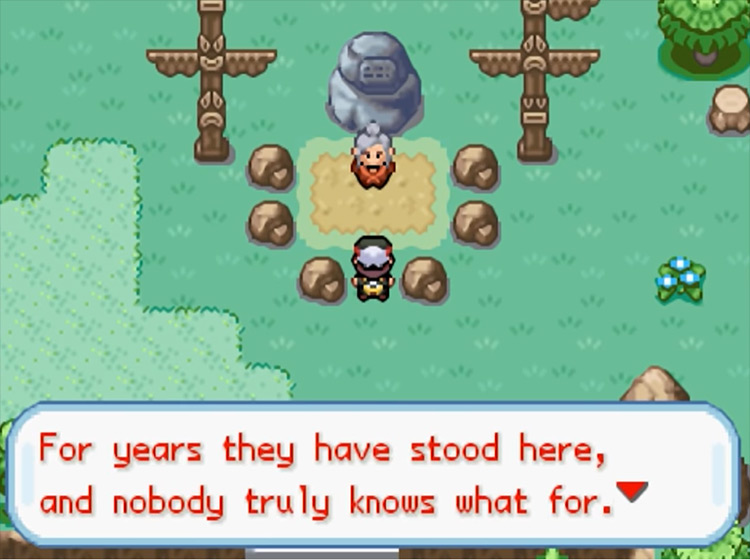 Pokémon Gaia ROM hack screenshot