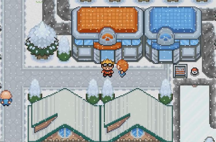 Pokémon Glazed ROM hack screenshot