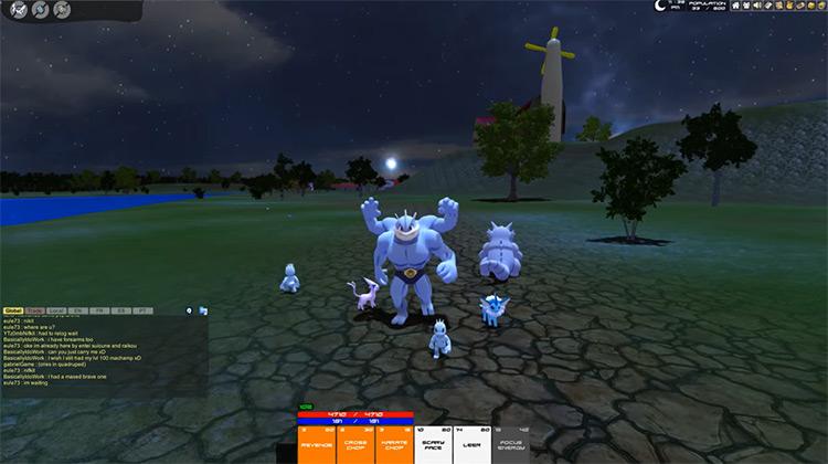 Pokémon MMO 3D ROM hack