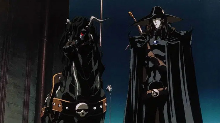 Vampire Hunter D: Bloodlust anime