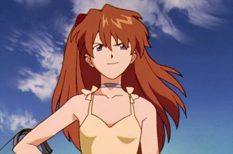 Asuka Langley Soryu Neon Genesis Evangelion screenshot