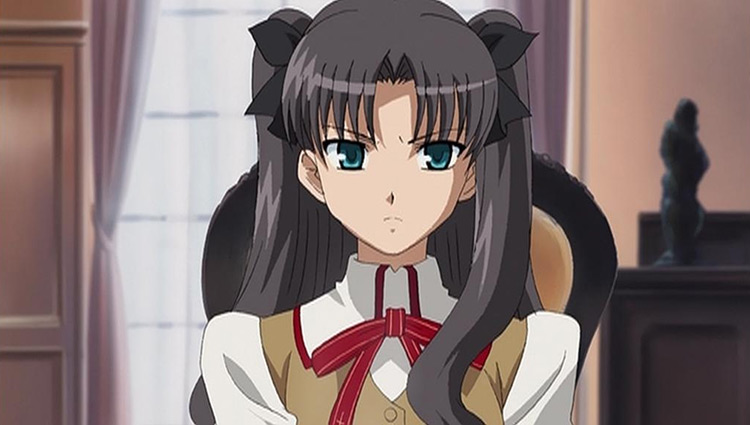 Rin Tohsaka from Fate/stay night anime