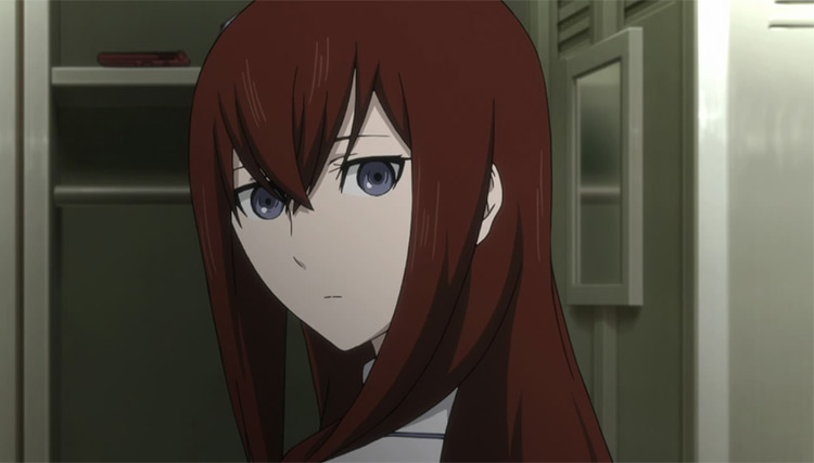 Kurisu Makise Steins;Gate anime