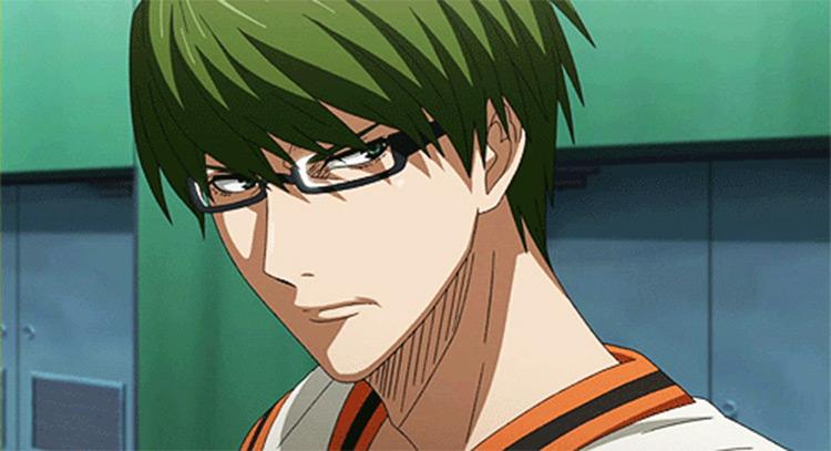 Shintaro Midorima Kuroko's Basketball anime screenshot