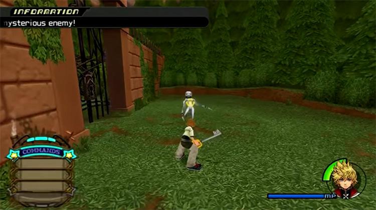 Kingdom Hearts II game screenshot