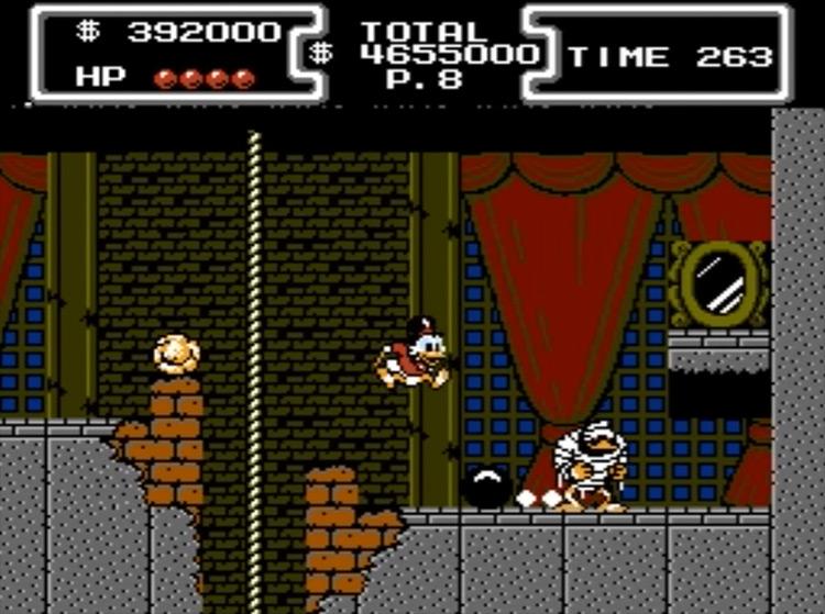 DuckTales gameplay screenshot