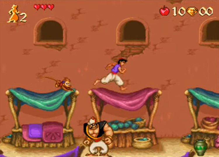 Disney's Aladdin game screenshot