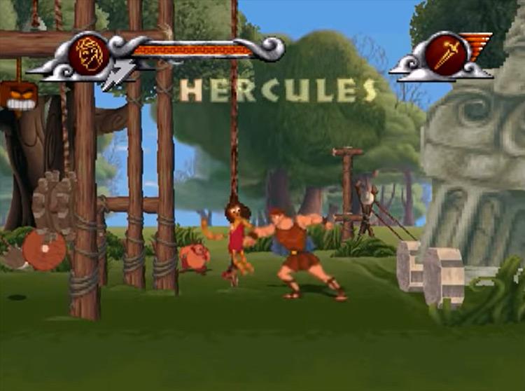 Disney's Hercules gameplay