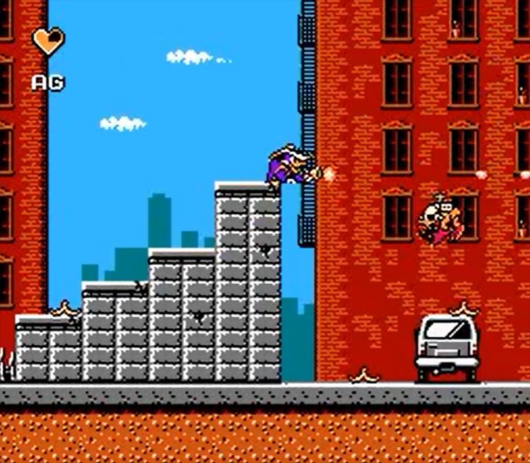 Darkwing Duck game screenshot