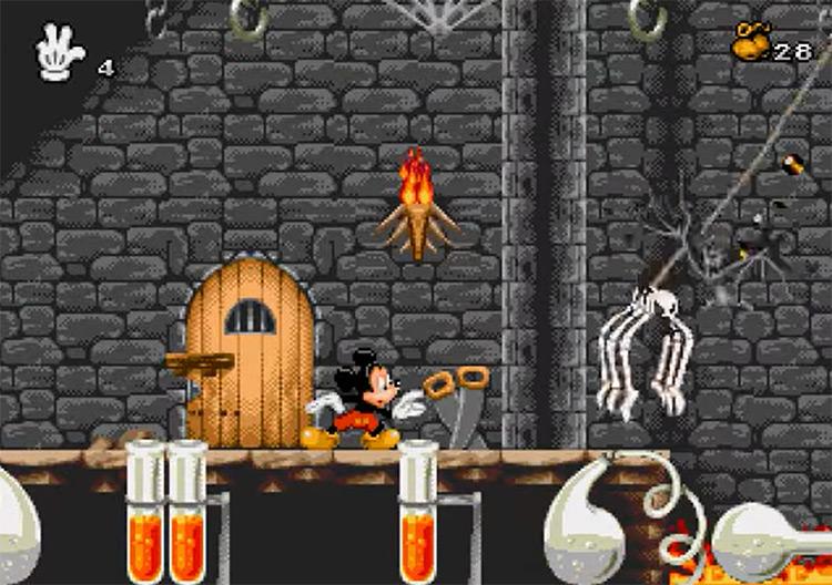 Mickey Mania game screenshot