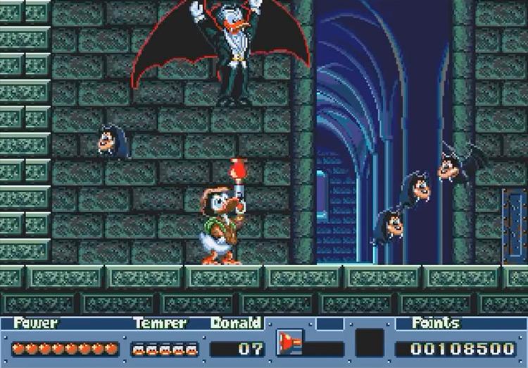 Quackshot gameplay screenshot