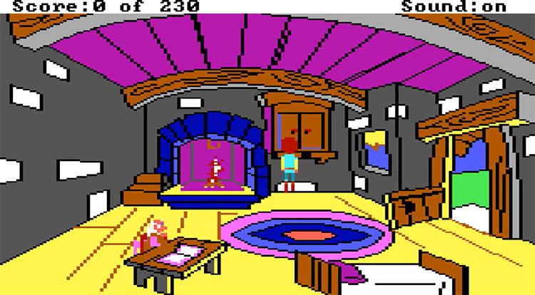 The Black Cauldron gameplay