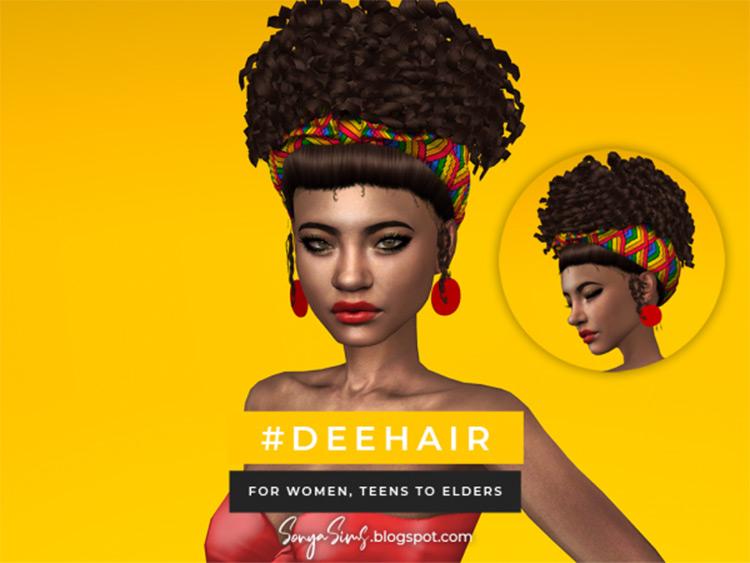 Dee Hair Afro CC