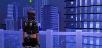 Ghost in the Shell Major - Sims 4 CC Screenshot