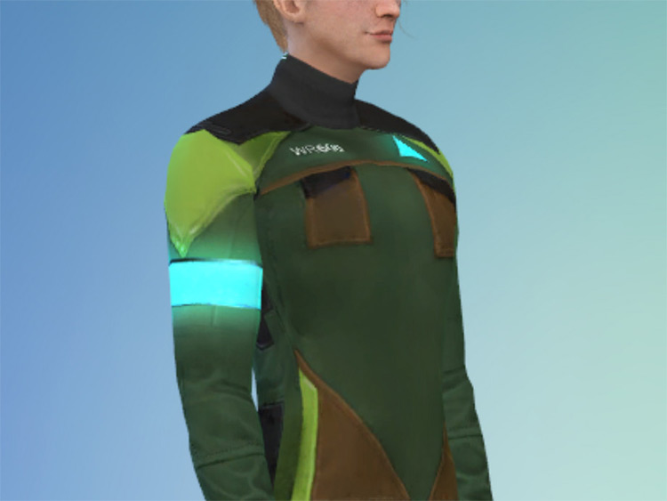 Detroit Becomes Human Android CC for The Sims 4