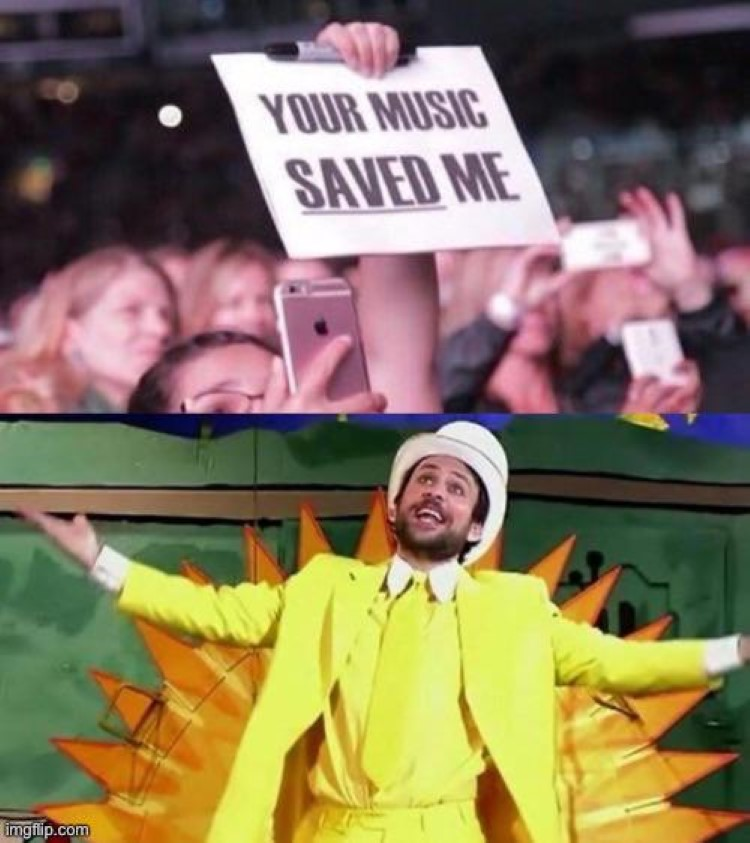 Your music saved me - Charlie Day Always Sunny
