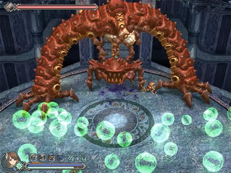 Ys Origins game screenshot