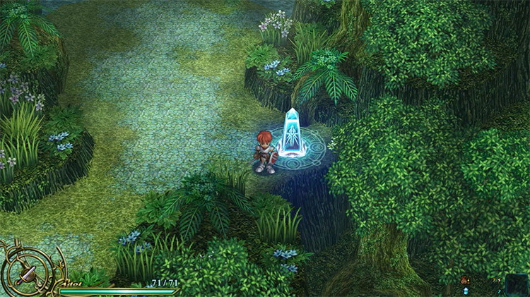 Ys VI: The Ark of Napishtim gameplay