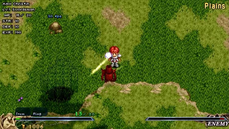 Ys I & II Chronicles screenshot