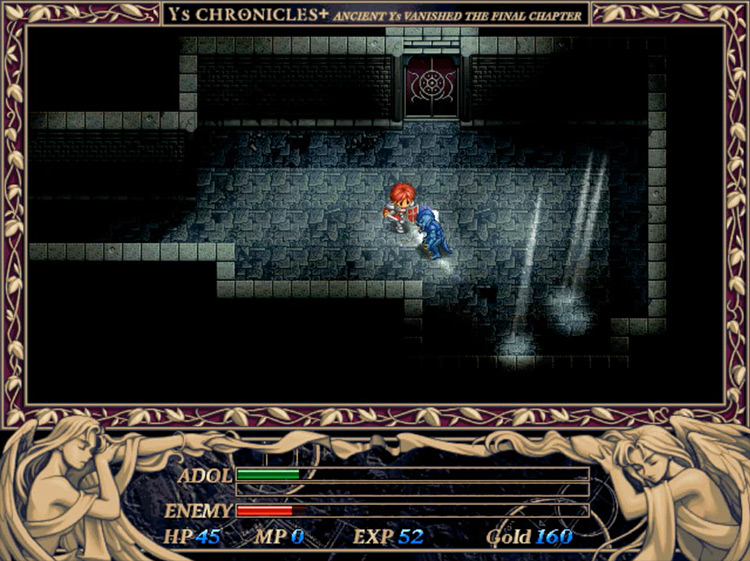 Ys II: Ancient Ys Vanished – The Final Chapter gameplay
