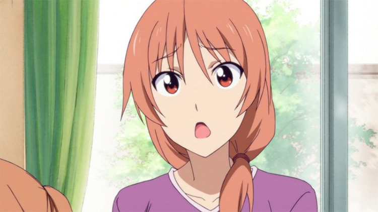 Yoshie Hanabatake from Aho Girl anime