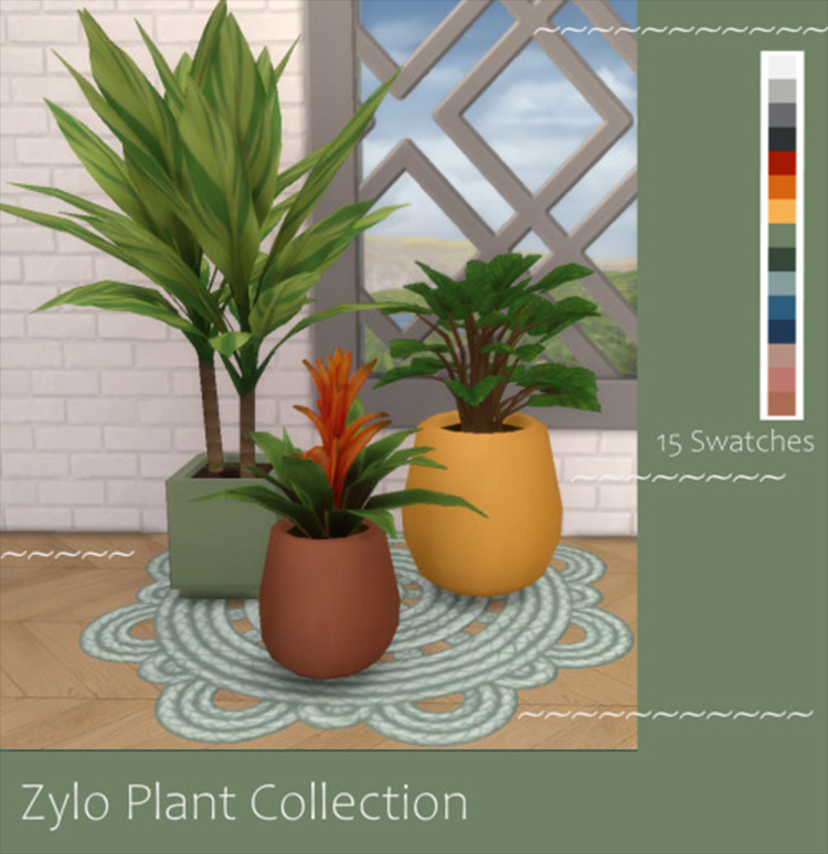 The Sims 4 Zylo Plant Collection CC screenshot