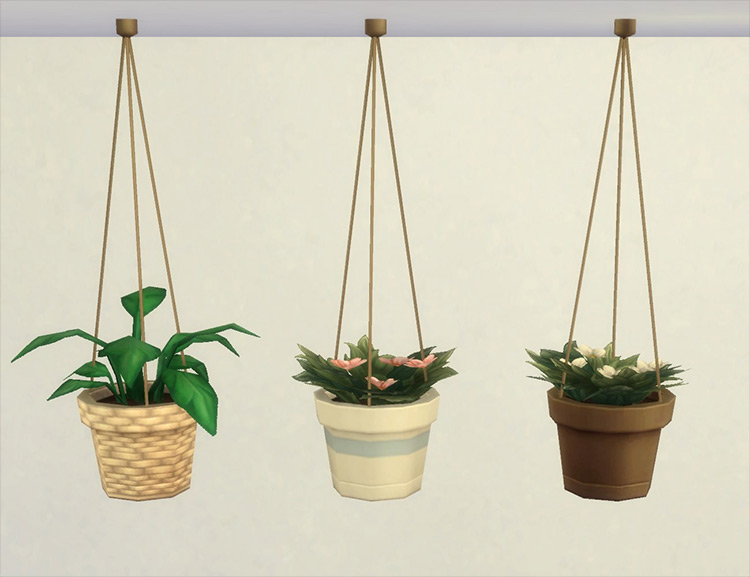 Modular Hanging Plants by plasticbox Sims 4