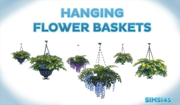 Hanging Flower Baskets CC by simsi45 screenshot