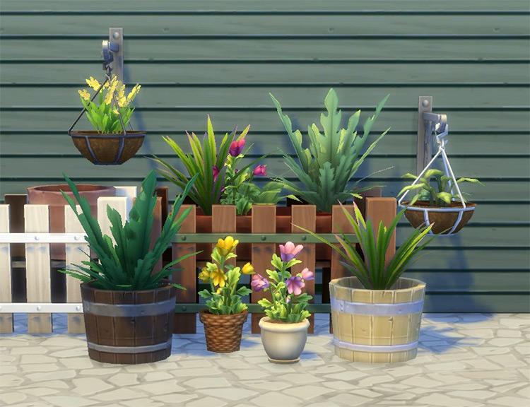 Modular Plants VI by plasticbox Sims 4 CC