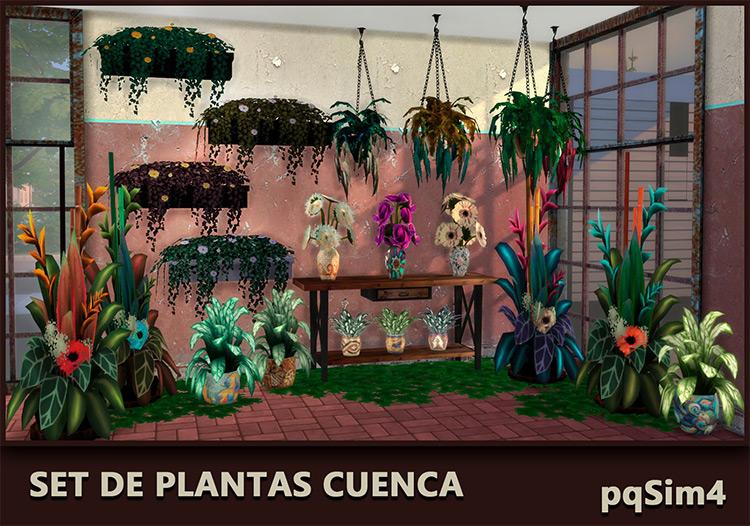 Set de Plantas Cuenca CC by pqSim4 screenshot