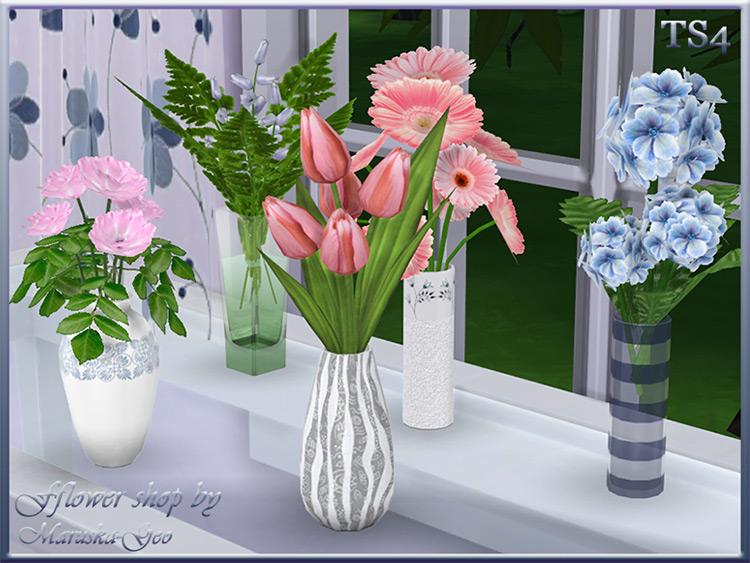 Fflower Shop by Maruska-Geo Sims 4 CC