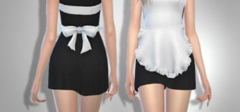 Maid Outfit Design for The Sims 4