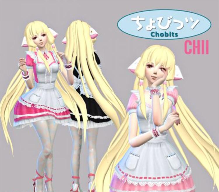 Chobits Chii Anime-style maid CC
