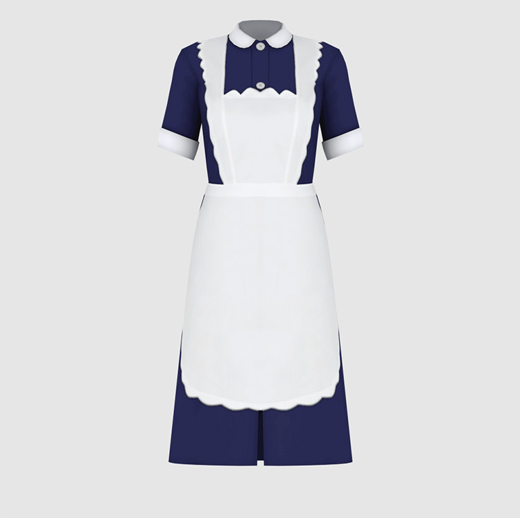 1930s classic style maid outfit