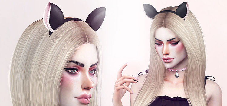 Sims 4 CC: Cutest Cat & Bunny Ears Accessories