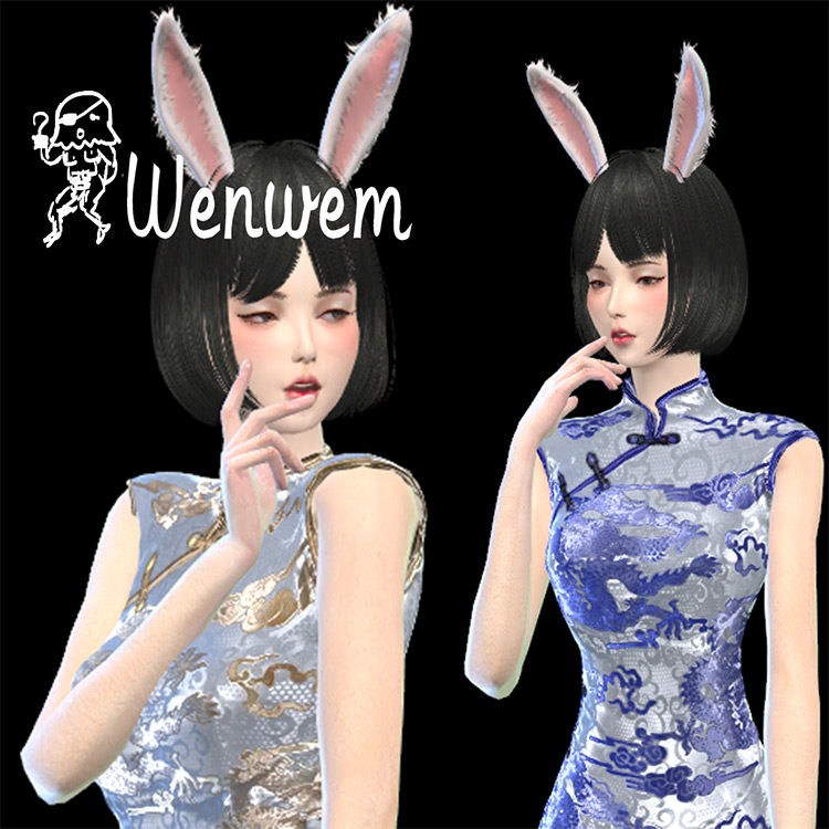 Rabbit Ears Mod for The Sims 4