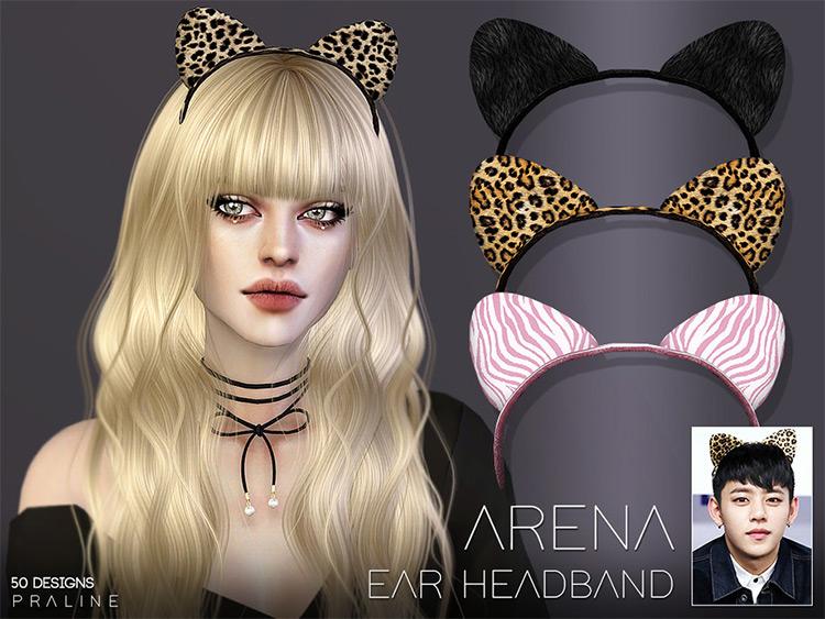 Arena Ear Headband CC for The Sims 4